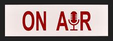 ON AIR Recording Radio TV Studio LED Illuminated Sign - Light Box with remote