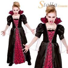 Disfraces de niña de color principal rojo de vampiros