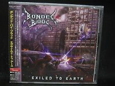 BONDED BY BLOOD Exiled To Earth + 1 JAPAN CD Warbringer Holy Grail Exodus