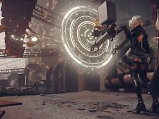 POSTER NIER: AUTOMATA NIER ANDROID YORHA 2B 9S A2 ROBOT GAME GIOCO PS4 FOTO #12