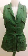 Abbigliamento moda DONNA ECO smanicato gilet made in italy OCCASIONE OFFERTA