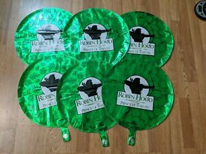 """ROBIN HOOD PRINCE OF THIEVES vtg mylar balloon lot of six party supply rare 17"""""""