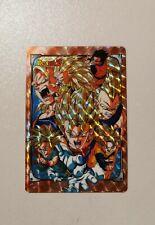 Carte Dragon Ball Z Hors Serie Special Saiyajin
