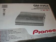 Pioneer GM-X952 Bridgeable 2-Channel Power Amplifier.  200W + 200W Max. (NEW)..