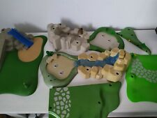 Playmobil lot vrac plaques végétation jardin