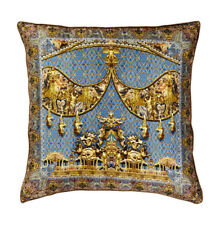 new CAMILLA FRANKS SILK CRYSTALS GILDED LUXURY LARGE CUSHION / KAFTAN