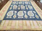 9' X 12' ODEGARD Hand Made TIBETAN NEPAL Wool Rug Decorative Rug Wow