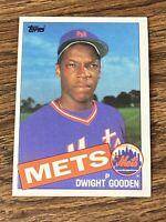 Vintage 1985 Topps #620 DWIGHT GOODEN RC New York Mets Yankees SP RARE NrMt/Mt