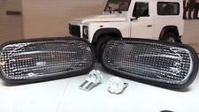 Land Rover Defender TD5 TDCI LED Clear Wing Repeater Indicators XGB100310L x2 XS