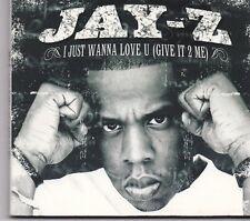 Jay Z-I Just Wanna Love U cd maxi single digipack