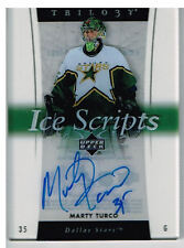 05-06 Trilogy ICE SCRIPTS Marty TURCO #IS-MT - Stars