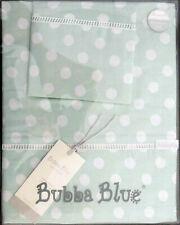 Boori Cot Sheet Set Polka Dots by Bubba Blue   Premium 100% Cotton