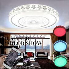 Wifi Music LED Ceiling Light Speaker Lamp Home Smart APP Control RGB Lighting