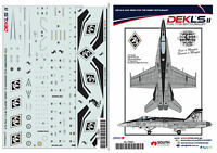 1/72  F/A-18 Hornet - RAAF 75 Squadron 75th Anniversary Decal  DEK L's II