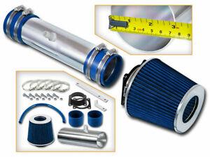 Sport Ram Air Intake Kit + BLUE Filter for 02-06 Nissan Altima / Murano 3.5L V6
