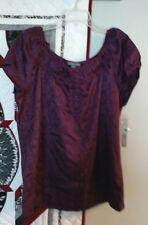 Apt 9 Stretch Sleeveless Top, Women's Size XL, Grape Color, NWT