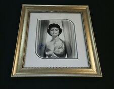 """ Sophia Loren"" / Custom Framed Autographed Photo, MINT CONDITION."