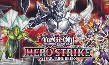 YU-GI-OH: PAPER PLAYMAT FROM THE HERO STRIKE STRUCTURE DECK - TRADING CARD GAME