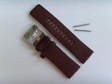 Diesel Original Spare Band Leather Wrist DZ4346 Watch Braun 1 1/32in Strap