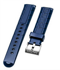 Nautica Men's NAD20005G NSR 103 Tide Temp Compass 22mm Blue Rubber Watch band