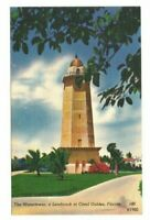 C.1960 Coral Gables FL The Watertower Postcard