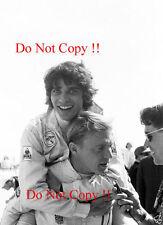 FRANCOIS CEVERT & Dan GURNEY Portrait sebring 12 H 1970 Photographie 2