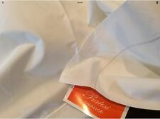 Pratesi Italy Nwt (1) Queen Duvet Cover 100% Cotton Embroidery Ivory