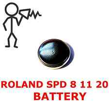 *New*  Roland SPD8 SPD11 SPD20 R70 Replacement Backup Battery - Free Shipping