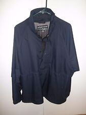 FootJoy DryJoys navy Blue 1/2 Zip Short Sleeve Pullover Golf Jacket Men's Xl