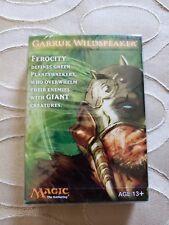 MTG Garruk Wildspeaker Cards Promo Deck 2011 New Sealed 30 Cards & Quick Start