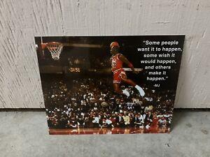 Michael Jordan Dunk Quote 8x10 Photo Poster Print Decor