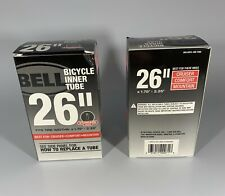 "Lot Of 2-Bell Standard Mountain Bike Inner Bicycle Inner Tube 26""x1.75-2.25"""