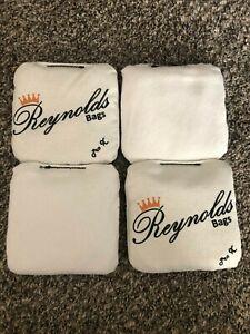 Reynolds Professional Cornhole Bags - Pro X - White - New