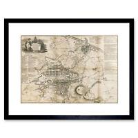 Wayne Maguire Tattooed Bill The Butcher Inked Ikon 12X16 Inch Framed Art Print