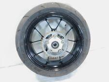 2009 Aprilia RSV1000R RSVR RSV Mille R Black Rear Wheel Rim w/ Tire & Sprocket
