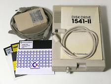 ✅ Commodore 1541 II Floppy Disk Drive Funzionante C64 C128 VIC20 Tested ⭐⭐⭐⭐⭐