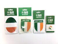 IRELAND NATIONAL FLAG IRISH ST PATRICK'S DAY STICKER PATCH AIR FRESH PIN BADGE