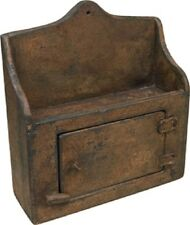 NEW Primitive Aged Wood Thermostat Cover Country FARMHOUSE Decor