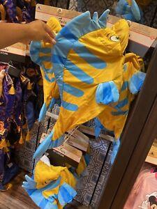 2021 Disney Parks Tail Flounder The Little Mermaid Costume for Dog Medium