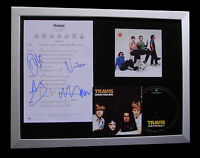 TRAVIS+SIGNED+FRAMED+HAPPY+DRIFTWOOD+RAIN+SING=100% AUTHENTIC+FAST GLOBAL SHIP