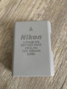 Nikon EN-EL14a 7,2V 1230 mAh Akku - Grau für Nikon