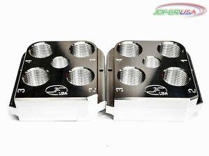 (2) Dillon RL550B/C BL550 Style Billet Aluminum tool head CNC Made Toolhead