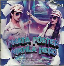 PHATA POSTER NIKHLA HERO - NEW BOLLYWOOD SOUNDTRACK MUSIC CD - FREE UK POST