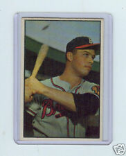 1953 BOWMAN COLOR #97 EDDIE MATHEWS - MILWAUKEE BRAVES