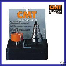 CMT HM Falzfräser Satz mit Kugellager 0-12,7mm Schaft 8