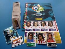 Panini WM 06 Germany 2006 - Komplettset + Album + 7 Updates Top/Rar