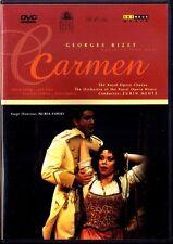 DVD BIZET: CARMEN Maria Ewing Luis Lima ZUBIN MEHTA ESPERT Gino Quilico Vaduva