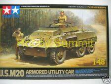 Tamiya 1/48 US WW2  M20 ARMORED UTILITY CAR  kit ! Tank  # 32556