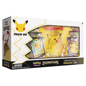 Pokemon TCG: Premium Figure Collection-Celebrations Pikachu Vmax Pre-Order 22/10