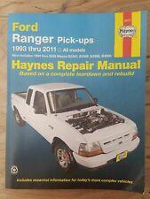 Haynes 36071 Ford Ranger Pick-Ups 1993 thru 2011 Mazda b2500 b2300 b3000 b4000